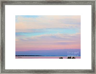 Take A Look Out There Framed Print by Michelle Wiarda