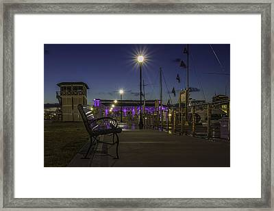 Take A Seat And Enjoy The View Framed Print