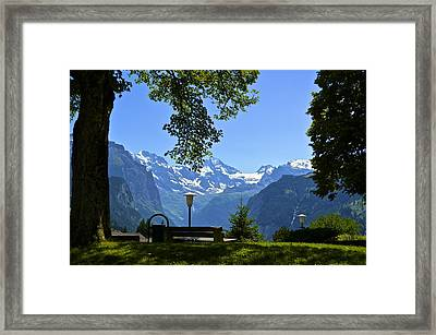 Take A Seat Framed Print by Marty  Cobcroft