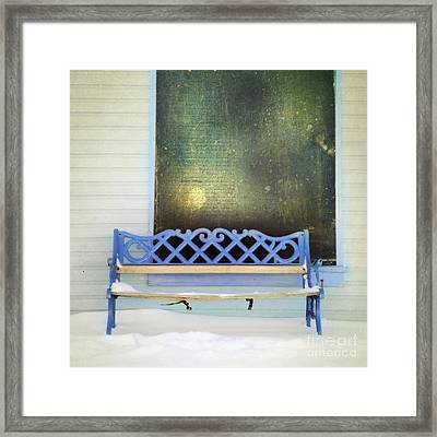 Take A Seat Framed Print
