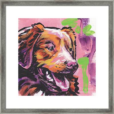 Take A Toll Framed Print by Lea S