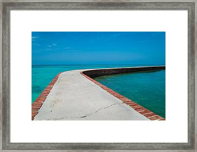Take A Walk Framed Print by Kristopher Schoenleber
