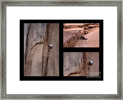 Take Action No Caption Framed Print by Bob Christopher