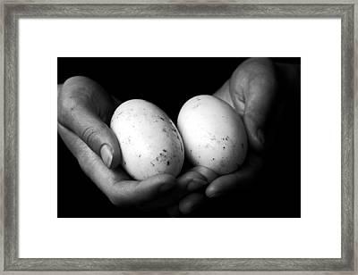 Take Care Framed Print by Kim Lagerhem