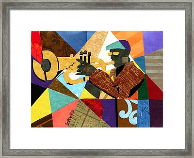 Take Five Framed Print by Everett Spruill
