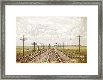 Take Me Away Framed Print