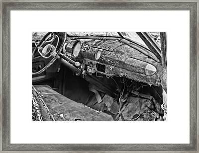 Take Me For A Ride Bw Framed Print by JC Findley