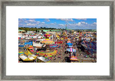 Take Me Out To The Fair Framed Print by Beth Saffer