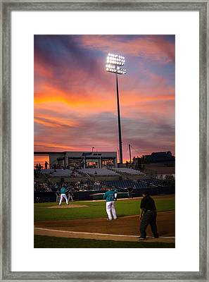 Take Me To The Game Framed Print