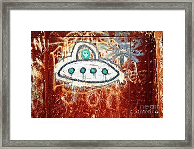 Take Me To Your Leader Framed Print by Scott Pellegrin