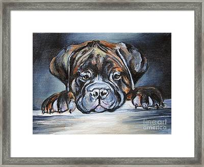 Take Me With You Framed Print