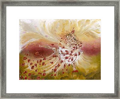 Take My Breath Away Framed Print by Karina Llergo