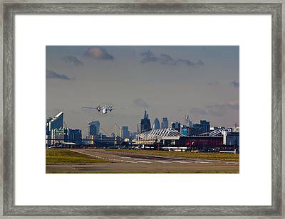 Take Off From London Framed Print