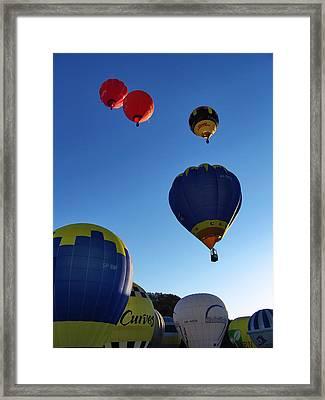 Take Off Framed Print by John Swartz