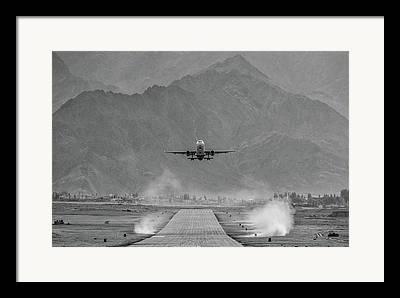 Passenger Jet Framed Prints
