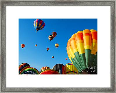 Take-off Time Framed Print