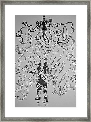 Take Over Control Framed Print by Issac Graham