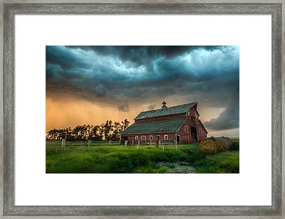 Take Shelter Framed Print