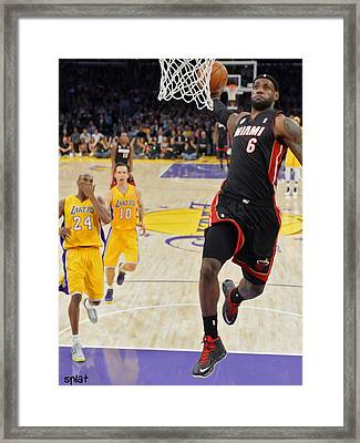 Take That Framed Print by Paint Splat
