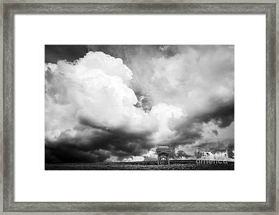 Take The A Train To Nowhere Framed Print by Edward Fielding
