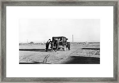 Take The Long Way Home Framed Print by Steve K