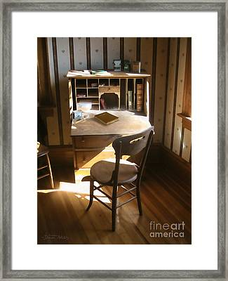 Take The Time Framed Print by Cristophers Dream Artistry