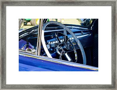 Take The Wheel Framed Print by Bernard  Barcos