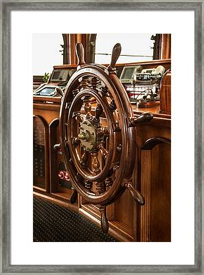 Take The Wheel Framed Print by Dale Kincaid