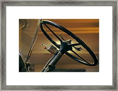Take The Wheel Framed Print by Mike Flynn