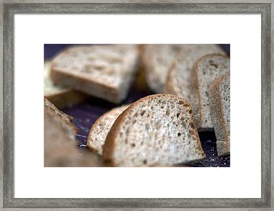 Take This Bread And Eat It Framed Print