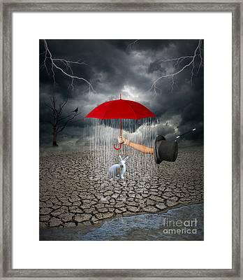 Take This.. It May Rain Framed Print