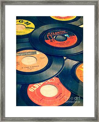 Take Those Old Records Off The Shelf Framed Print