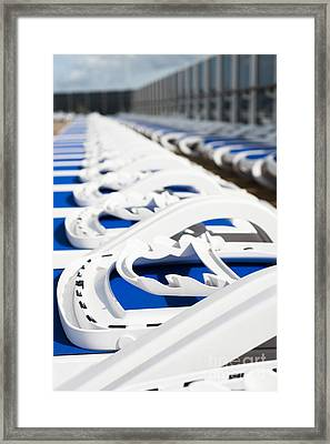 Take Your Pick Framed Print by Anne Gilbert