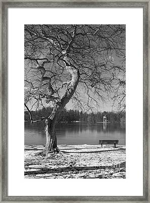 Framed Print featuring the photograph Take Your Time  by Juergen Klust