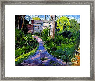 Takeme To The Waters Edge Framed Print by Charlie Spear