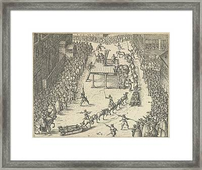 Taken To Execution Framed Print by British Library