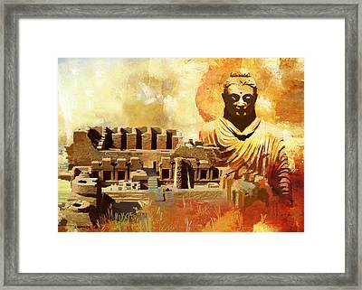 Takhat Bahi Unesco World Heritage Site Framed Print by Catf