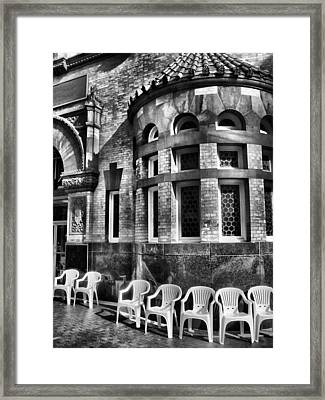 Framed Print featuring the photograph Takin It To Da Bank  by Robert McCubbin