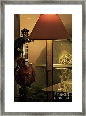 Framed Print featuring the photograph Taking A Break by Alice Mainville