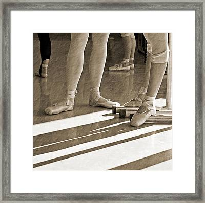 Framed Print featuring the photograph Taking A Break by Bill Howard