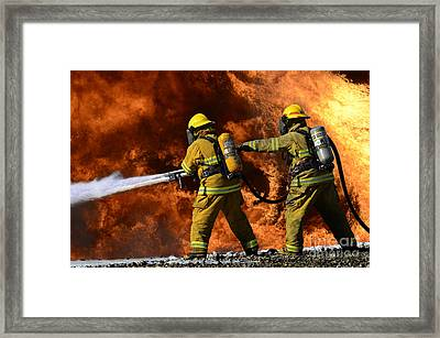 Taking A Stand Framed Print by Bob Christopher