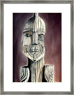 Taking A Stand Framed Print by Dawson Taylor
