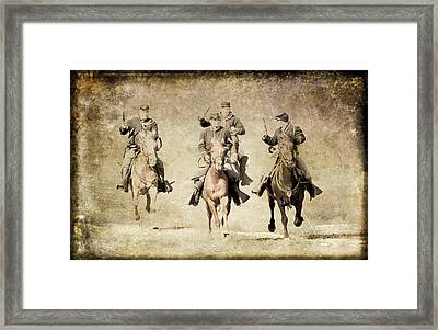 Taking Charge  Framed Print