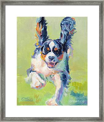 Taking Flight Framed Print by Kimberly Santini