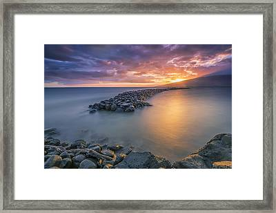Framed Print featuring the photograph Taking It Easy by Hawaii  Fine Art Photography