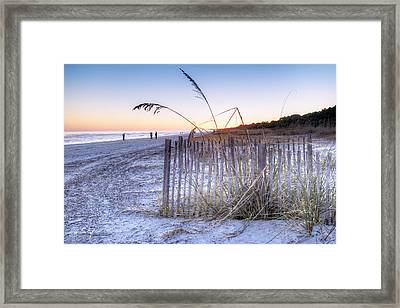 Taking Pictures Framed Print