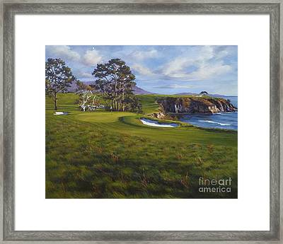 Taking The Fifth Framed Print by Shelley Cost