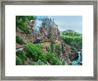 Taking The Highline Home Framed Print by Ken Smith