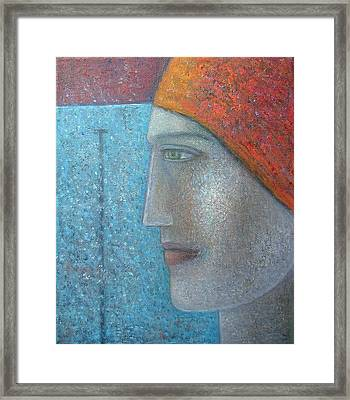 Taking The Plunge, 2012, Oil On Canvas Framed Print