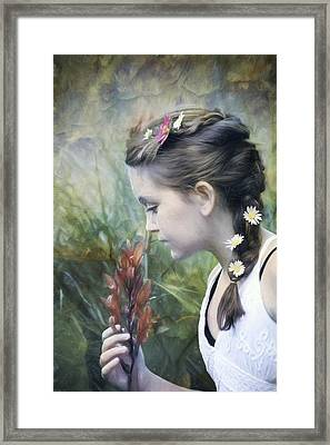 Taking Time Framed Print